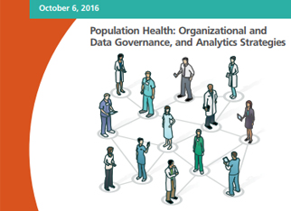 2016 Chief Data and Analytics Officer Summit report cover