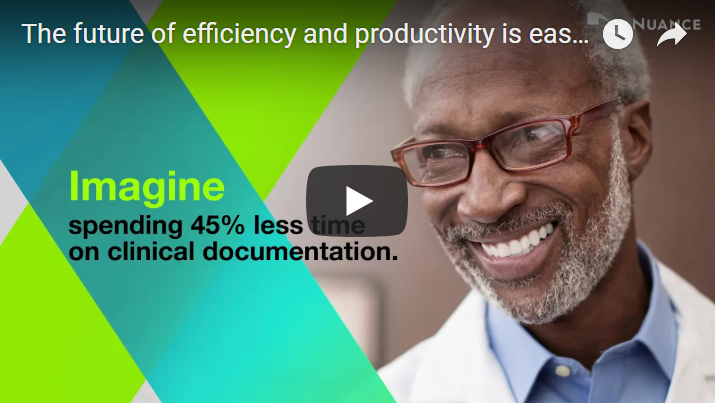 The future of efficiency & productivity is easy to imagine with Nuance